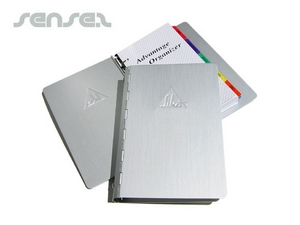 Aluminum Cover Notebook Organisers