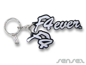 Shaped Perspex Key Chains