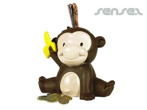 Monkey Shaped Coin Banks