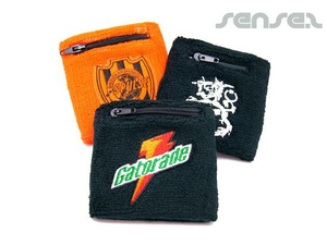 Wallet Wrist Sweatbands