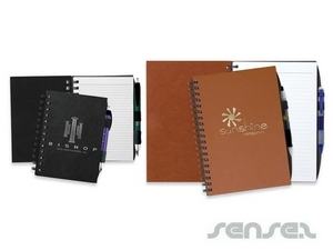 Faux Leather Notebooks - Small