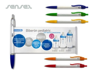 Stift mit Info zum ausziehen