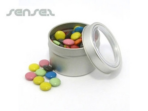 Smarties Style Chocolates In Tin