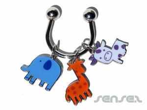 Tiffany Charm Key rings