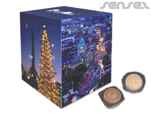 Cube Chocolate (Advent) Calendars