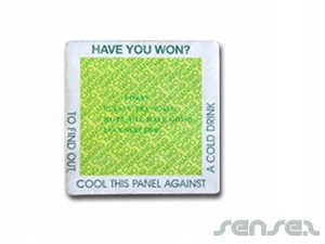 message revealing coaster
