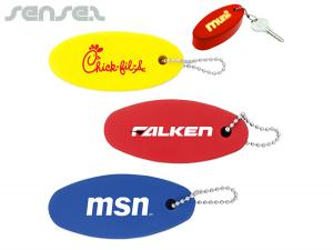 Floating Surfboard Key Chains
