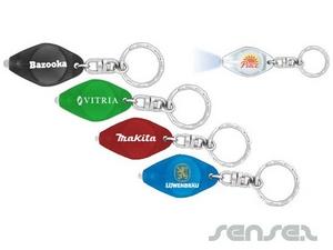Mini-Taschenlampe Schlüsselanhänger