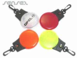 Flashing Reflective LED Markers