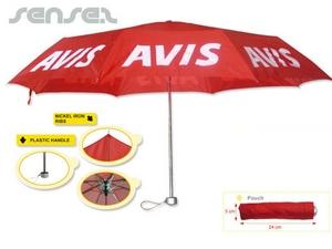 Kleine Economy Regenschirme