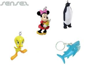 3D Plastik Schlüsselanhänger