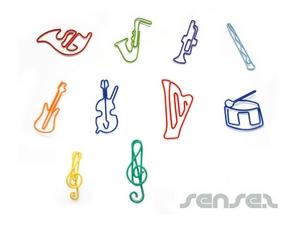 Büroklammern - Geformte (Instrumente und Musik)
