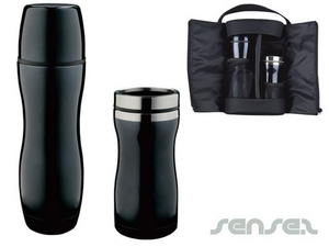 Thermo Mugs And Flask Sets