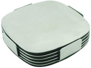 Coasters - Set Of 4 Stainless Steel