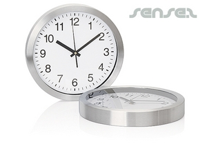 Wall Clocks - Silver