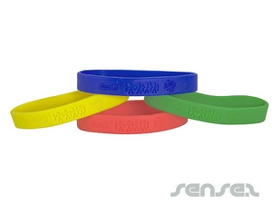 Silicone Wristband Embossed