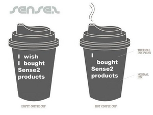 Disposable Heat Activated Coffee Cups
