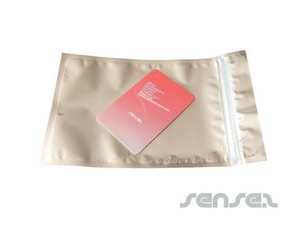 Stock Postcard Size Silver Foil Envelopes