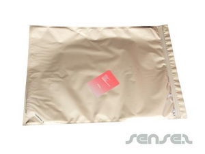 Stock A3 Size Silver Foil Envelopes (Clear/Silver)