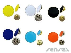 Round Enamel Badges (Express)