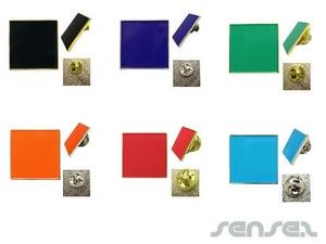 Rechteckige Enamel Badges (Express)
