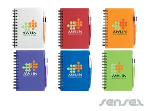 Plastic Cover Notebooks