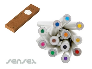 Recycled Paper Colour Pencil Sets