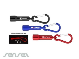 Karabiner LED Taschenlampen Schlüsselanhänger