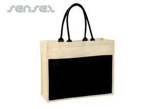 Environmental Contrast Jute Bags
