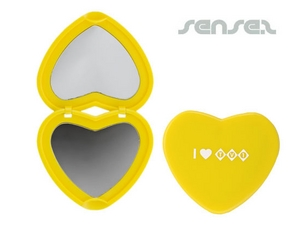 Heart Shaped Pocket Mirrors