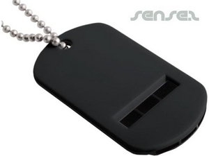 Whistle Dog Tags