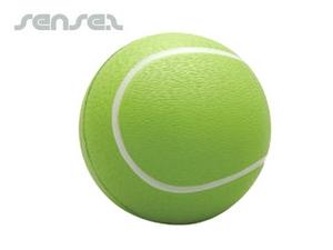 tennis shaped stressball