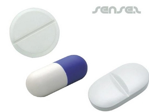Pill Shaped Stress Balls