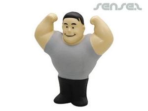 Muscle Man Stress Balls