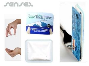 toothpaste snaps sachet