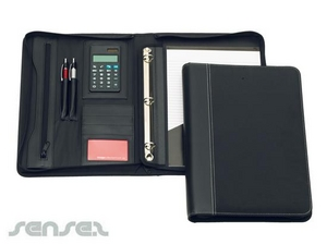 Microfiber Compendiums with Faux Leather