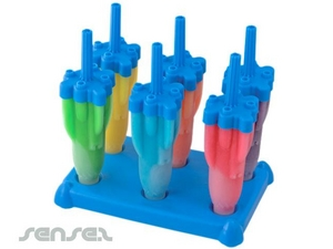 Rocket-Shaped Ice Makers Pole