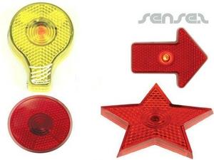 Blinkende Lichter mit Clips