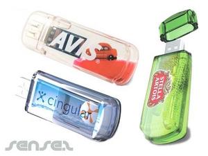 Flüssigkeit gefüllte USB-Sticks (1GB)