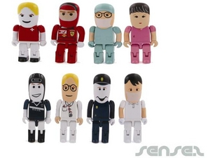 Professionals In Uniforms 1GB USB Sticks
