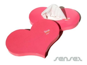 Heart Shaped Tissue Boxes