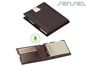 Leather Wallets And Jotter