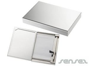 Mirror Notepads With Pens