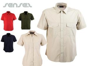 Safari Kurzarm-Shirts