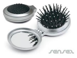 Faltbare Spiegel Haarbürsten