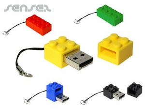 Building Block Shaped 1GB USB Sticks