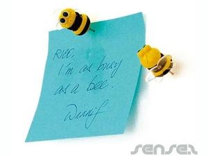 Bee Shaped Pin Needles