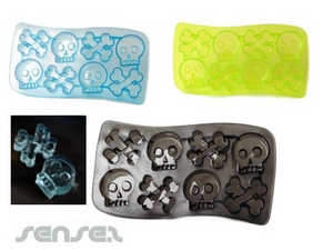 Skulls And Bones Ice Cube Trays