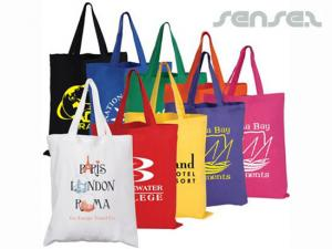 Cheap Coloured Cotton Bags
