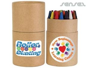 Round Crayon Cartons